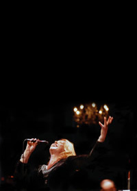 Barb Jungr on stage
